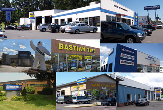 Bastian Tire and Auto Center photo collage
